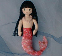 Chirimen mermaid